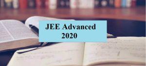JEE Advance 2020